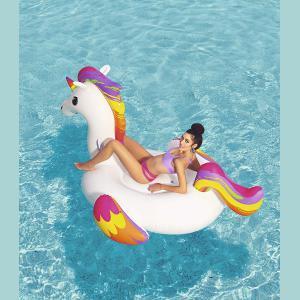 Inflable Unicornio Kawaii Grande 224x164cm Bestway 41113