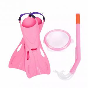Kit Buceo Infant Antiparra + Tubo + Pata Rana Bestway 25018