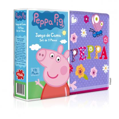 Sábanas Piñata 1 1/2 plaza Peppa Pig Cerdita