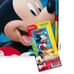 Toallón de microfibra Piñata 60x120 Mickey 4924