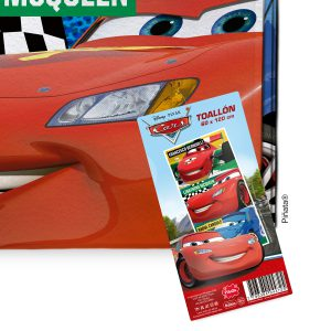 Toallón de microfibra Piñata 60x120 Cars 4930