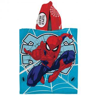 Poncho de microfibra con capucha Piñata 60x120 SpiderMan Hombre Araña 4911