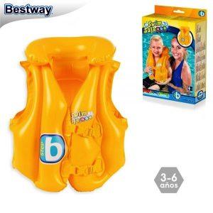 Chaleco Salvavidas Inflable Step B 51 X 46 Cm Bestway 32034