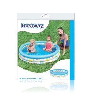 Pileta Inflable Bebe Niños 3 Aros  Bestway 51009