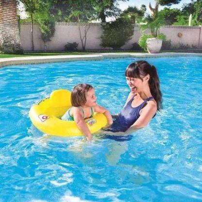 Asiento Flotador Inflable Bebe Niños  Pileta Bestway 32027