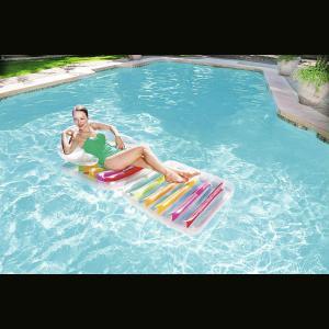 Colchoneta Sillon Inflable Colores 201x89 Cm Bestway 43023