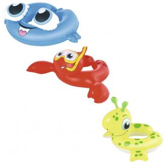 Salvavidas Inflable  Bebe Criaturas Del Mar Pileta  36112