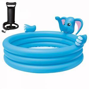 Pileta Inflable Elefante Infantil Niños Bestway + Inflador